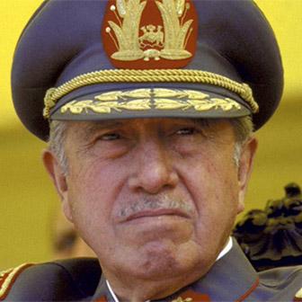 Foto di Augusto Pinochet