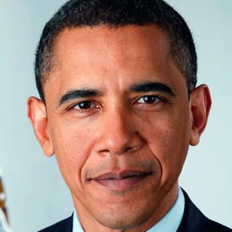 Foto quadrata di Barack Obama