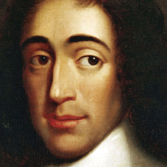 Foto quadrata di Baruch Spinoza