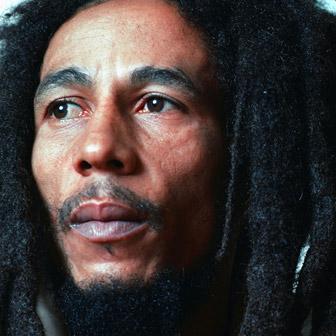 Foto quadrata di Bob Marley