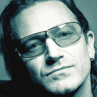 Foto quadrata di Bono