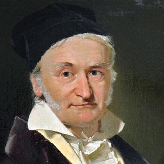Foto di Carl Friedrich Gauss