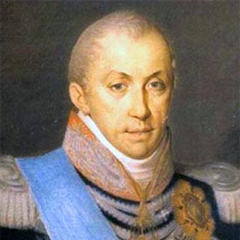 Foto di Carlo Felice di Savoia