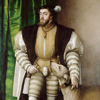 Foto quadrata di Carlo V