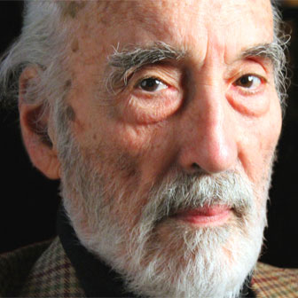 Foto di Christopher Lee