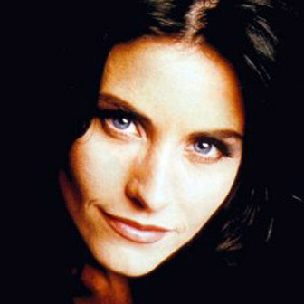 Foto quadrata di Courtney Cox