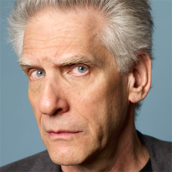 Foto quadrata di David Cronenberg