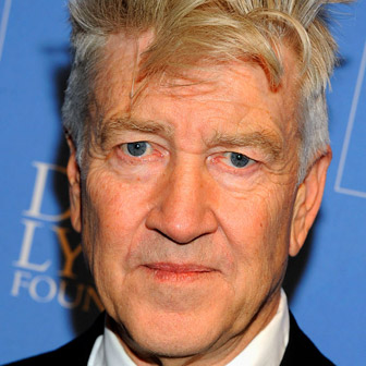 Foto quadrata di David Lynch