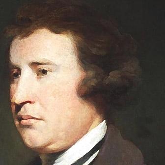 Foto quadrata di Edmund Burke