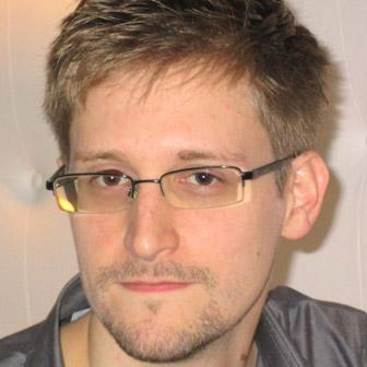 Foto di Edward Snowden