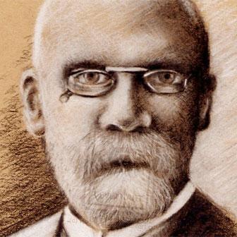 Foto quadrata di Emile Durkheim
