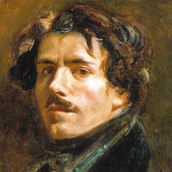 Foto quadrata di Eugène Delacroix