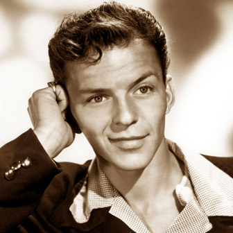 Foto quadrata di Frank Sinatra