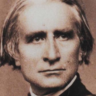 Foto quadrata di Franz Liszt