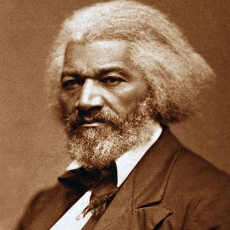 Foto quadrata di Frederick Douglass