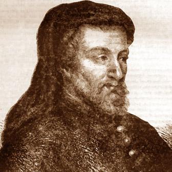 Foto quadrata di Geoffrey Chaucer