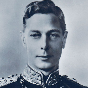 Foto di Giorgio VI del Regno Unito