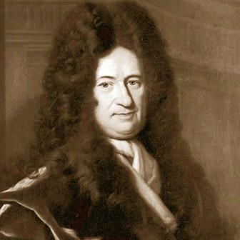 Foto di Gottfried Wilhelm Leibniz