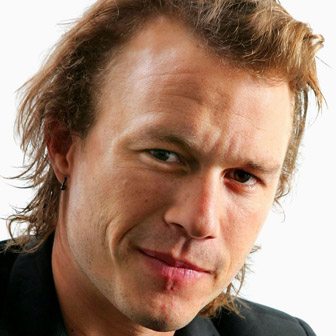 Foto quadrata di Heath Ledger