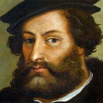 Foto quadrata di Hernán Cortés