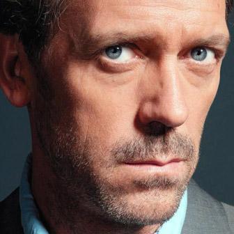 Foto quadrata di Hugh Laurie