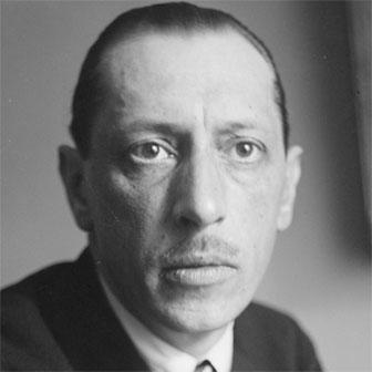 Foto di Igor Stravinsky