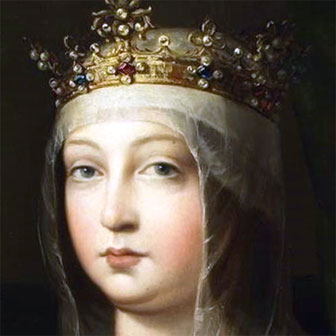 Foto di Isabella di Castiglia