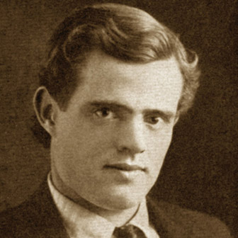 Foto quadrata di Jack London