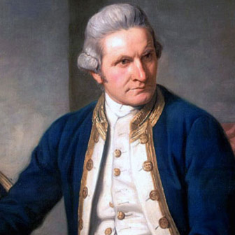 Foto quadrata di James Cook