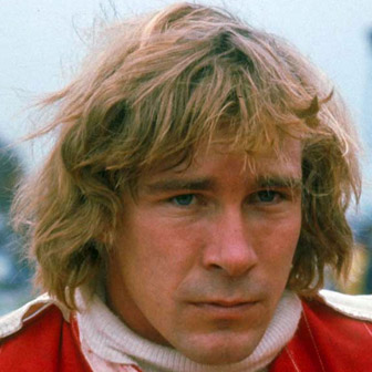 Foto quadrata di James Hunt