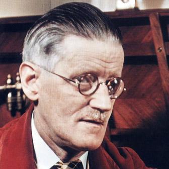 Foto quadrata di James Joyce