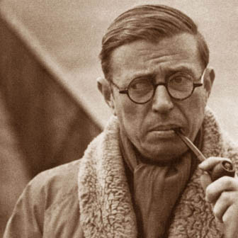 Foto di Jean-Paul Sartre