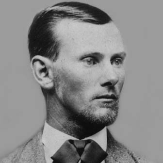 Foto quadrata di Jesse James