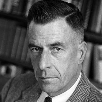 Foto quadrata di John Kenneth Galbraith