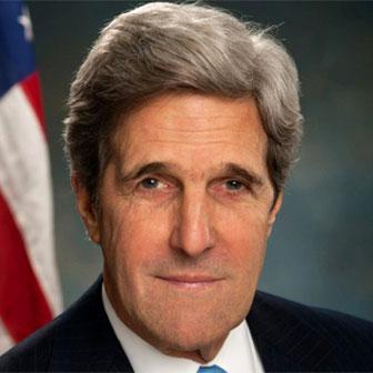 Foto quadrata di John Kerry