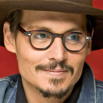 Foto quadrata di Johnny Depp