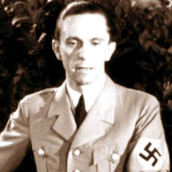 Foto di Joseph Goebbels
