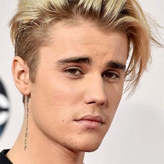 Foto quadrata di Justin Bieber