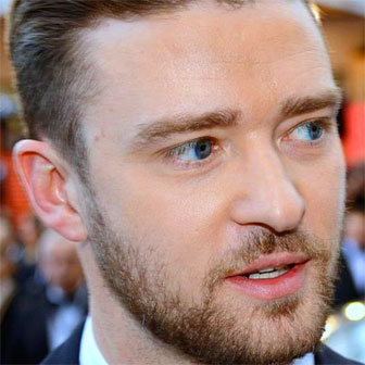 Foto quadrata di Justin Timberlake