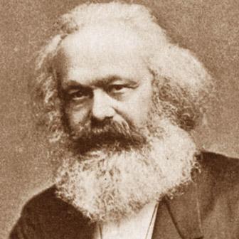 Foto di Karl Marx