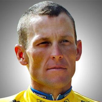 Foto quadrata di Lance Armstrong