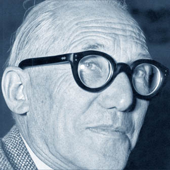 Foto quadrata di Le Corbusier