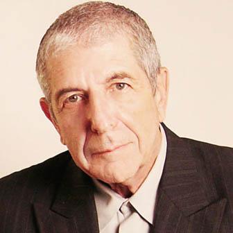 Foto quadrata di Leonard Cohen