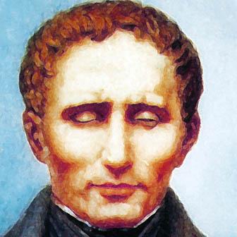Foto quadrata di Louis Braille