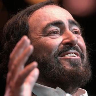 Foto di Luciano Pavarotti