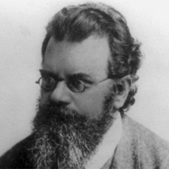 Foto quadrata di Ludwig Boltzmann