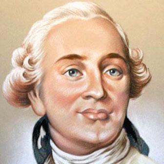Foto quadrata di Luigi XVI di Francia