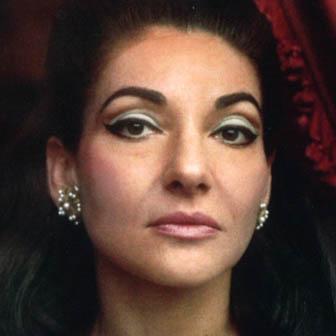 Foto di Maria Callas