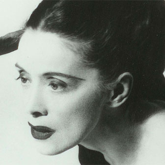 Foto quadrata di Martha Graham