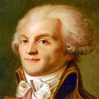 Foto quadrata di Maximilien de Robespierre